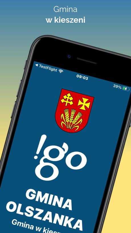 !go Gmina Olszanka - Aplikacja mobilna