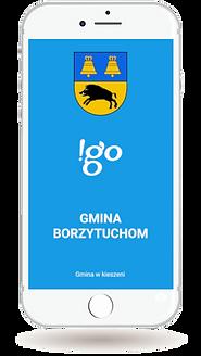 Aplikacja gminna !go Gmina Borzytuchom
