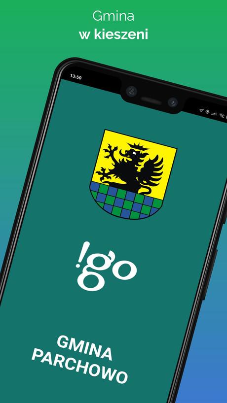 !go Gmina Parchowo - Aplikacja mobilna
