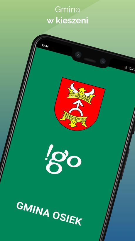!go Gmina Osiek- Aplikacja mobilna