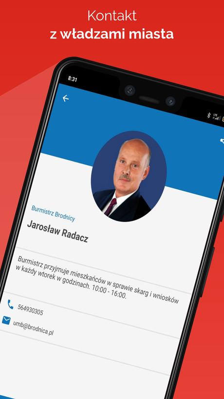 !go Brodnica - kontakt z władzami miasta