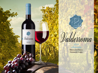 Lanzamiento del vino Valderroma