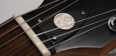 Antique Coin Inlay
