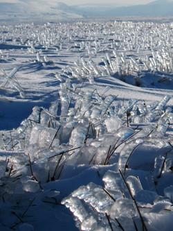 mountain ice