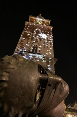 large face sculpture