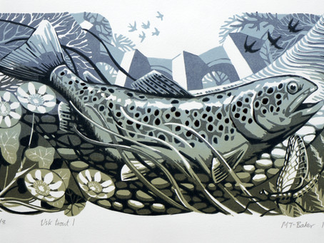 Both entries accepted for  the Society of Wildlife Artists annual exhibition.
