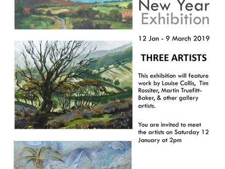 New Year Exhibition in Oriel Cric
