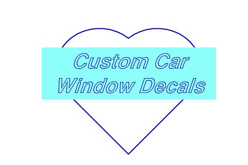 Custom Decals