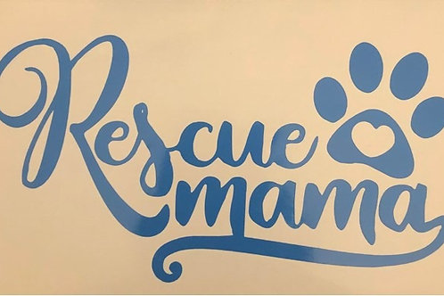 Window Decal Rescue Momma