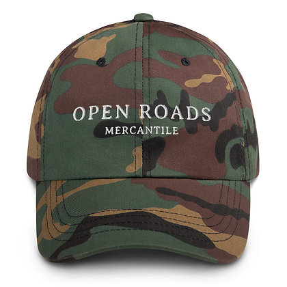 Open Roads Dad Hat