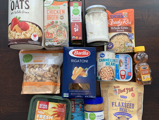 TOP QUICK-COOKING PANTRY STAPLES FOR ATHLETES
