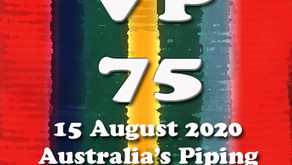 FEDERAL BACKING FOR OUR VP75 TRIBUTE