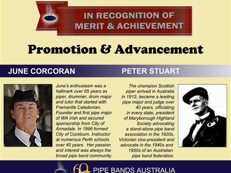 NATIONAL AWARDS 2020 – PROMOTION AND ADVANCEMENT