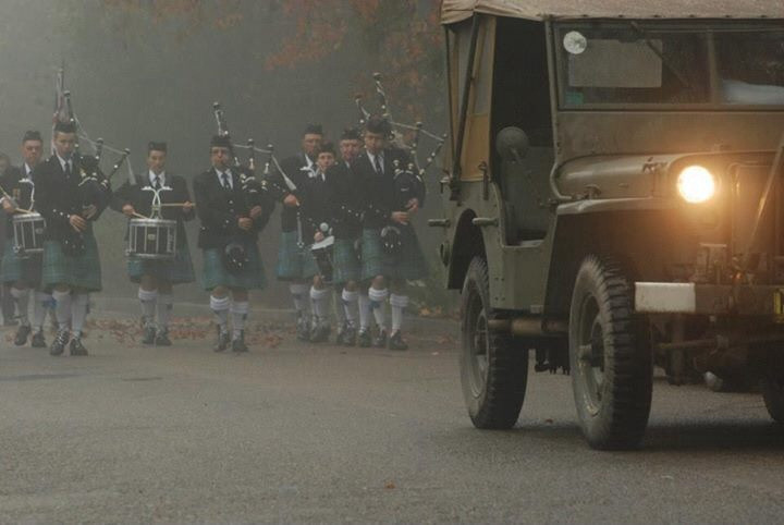 Blue Mountains Pipe Band 2014
