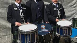 Our world champion tenor drummer