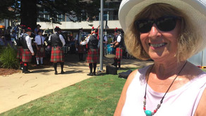 Bagpipes draw fans