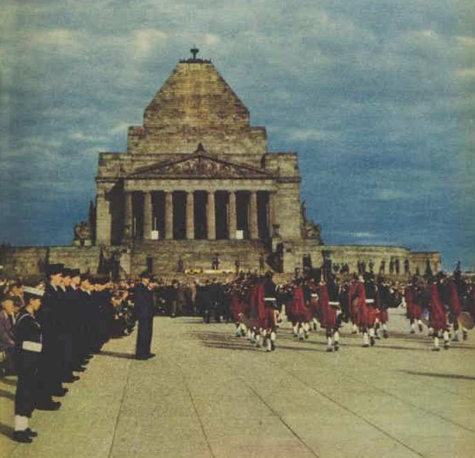 Royal Caledonian Society Melbourne 1958