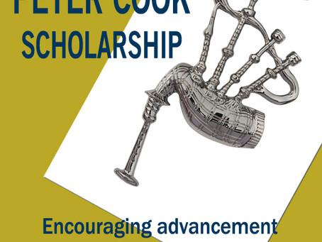 Peter Cook Scholarships Open