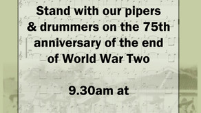 Marking 75th anniversary of end of World War Two