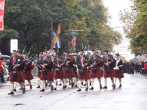 St George Sutherland Scottish Pipe Band 2017