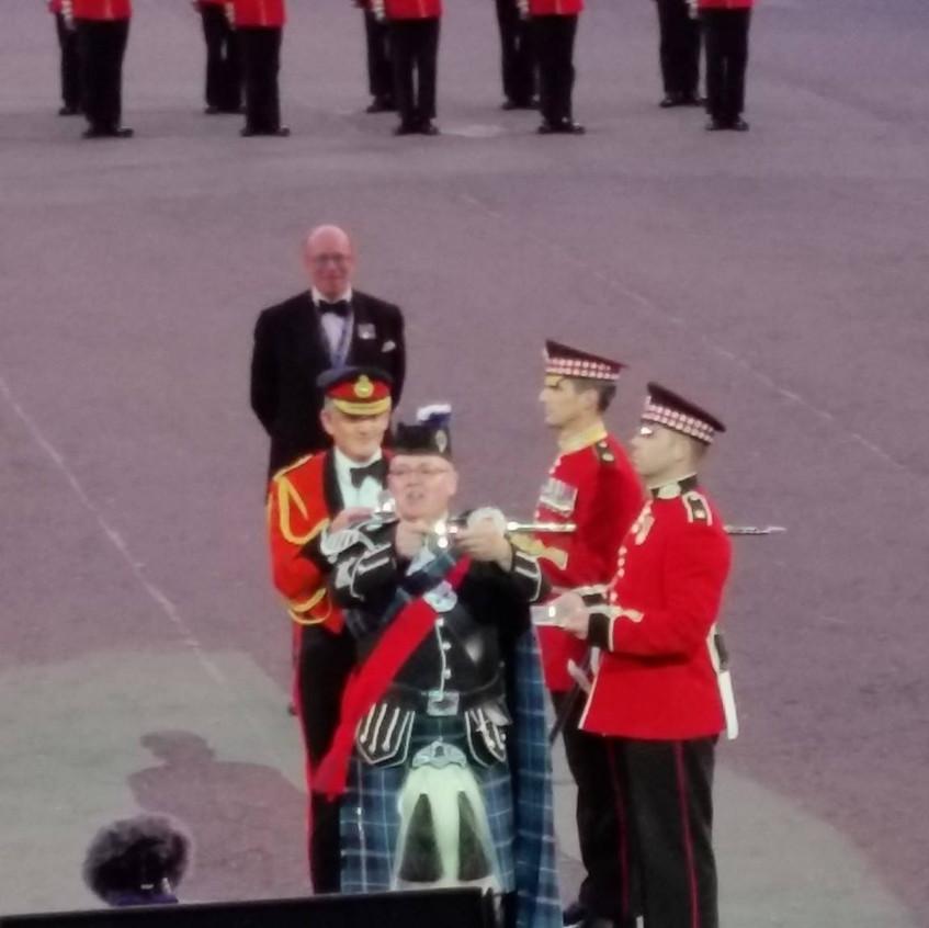 Pipe Major Roddy MacDonald