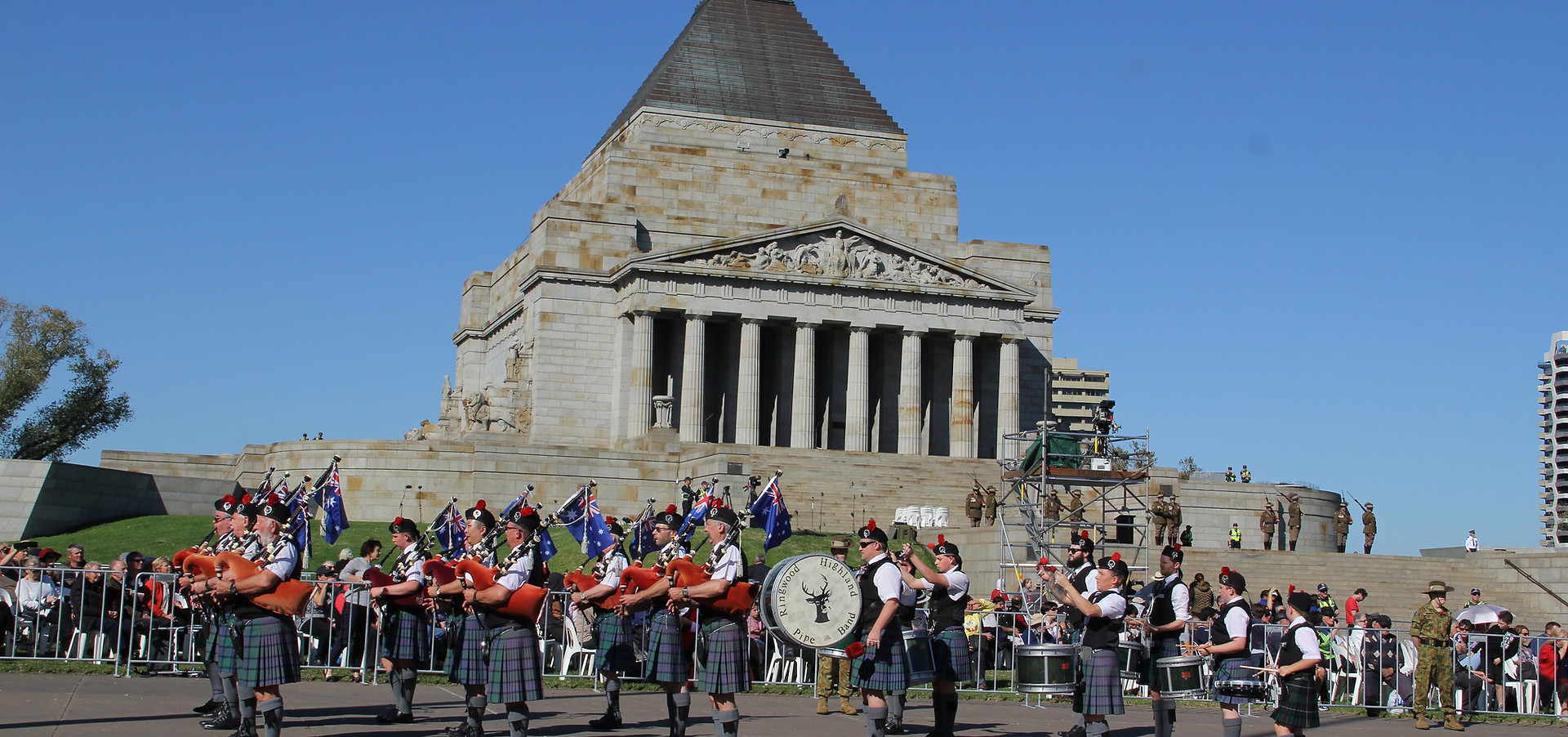 Ringwood at the Shrine of Remembrance Melbourne