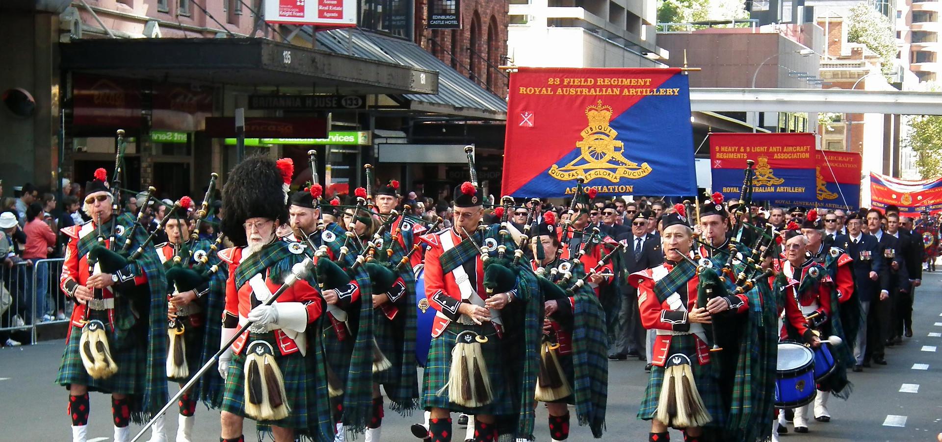 ANZAC Day 2013 Clan Macleod