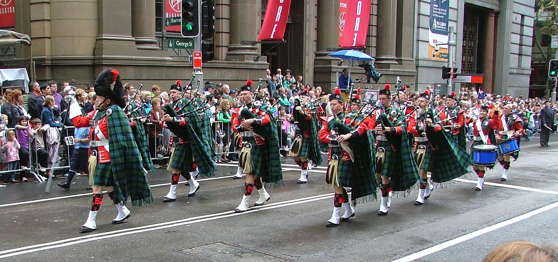 ANZAC Day 2008 Clan Macleod