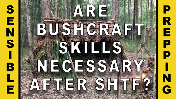 #80 - Are Bushcraft Skills Necessary After SHTF?