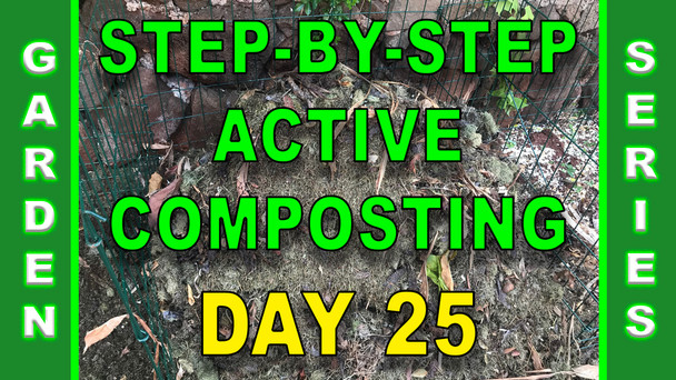#134 - Step-By-Step Active Composting - Day 25