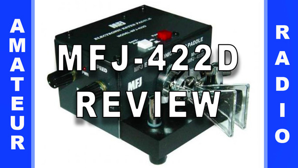 #63 - MFJ-422D Keyer/Paddle Combo Review
