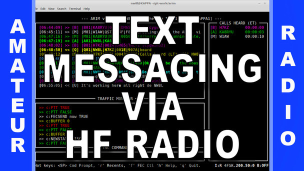 #43 - Text Messaging via HF Radio