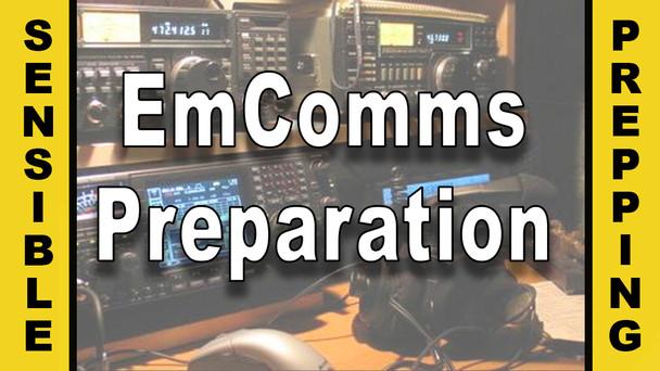 # 15 - EmComms Preparation