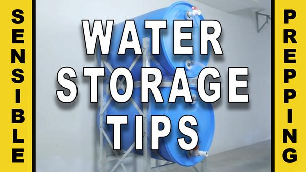 #90 - Water Storage Tips