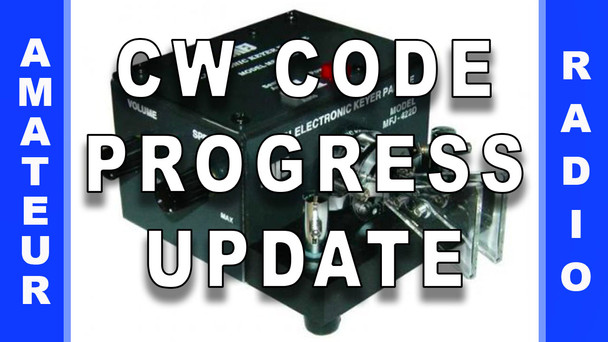 #71 - CW Code Progress Update