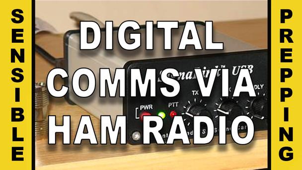 # 27 - Digital Comms for Preppers Via Ham Radio