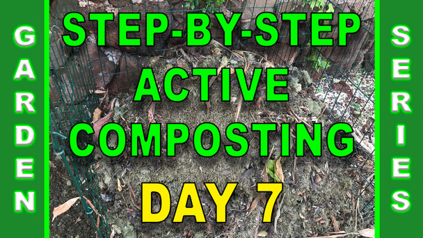 #116 - Step-By-Step Active Composting - Day 7