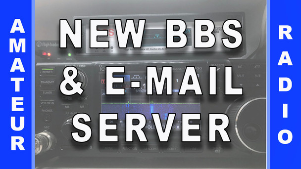 #75 - New BBS Message Board & E-Mail Server