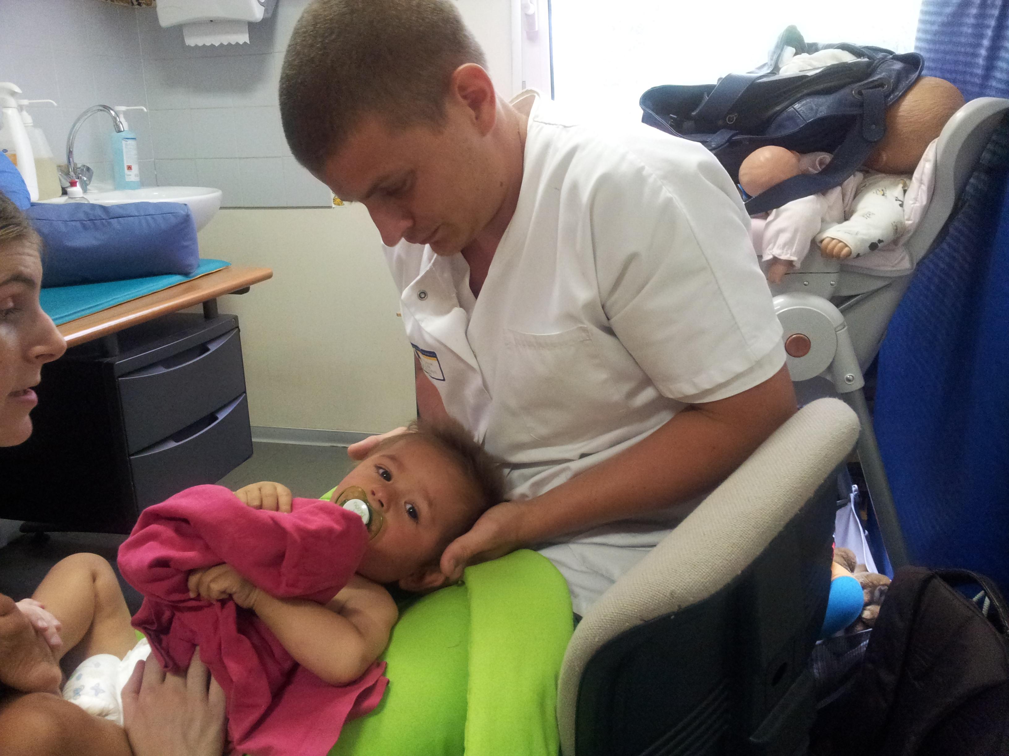Séance pédiatrique