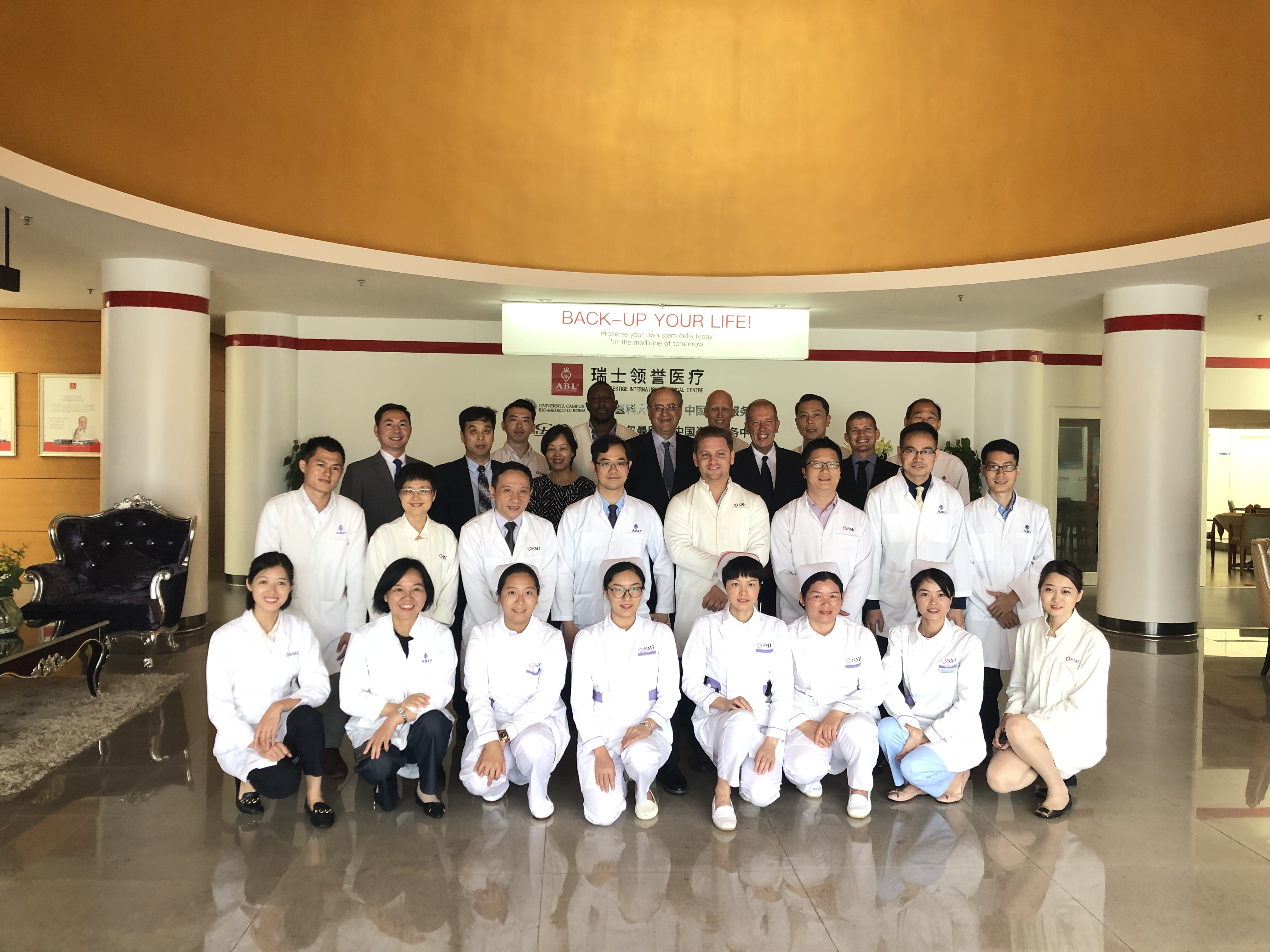 Equipe Médicale ABL2019 Canton Chine