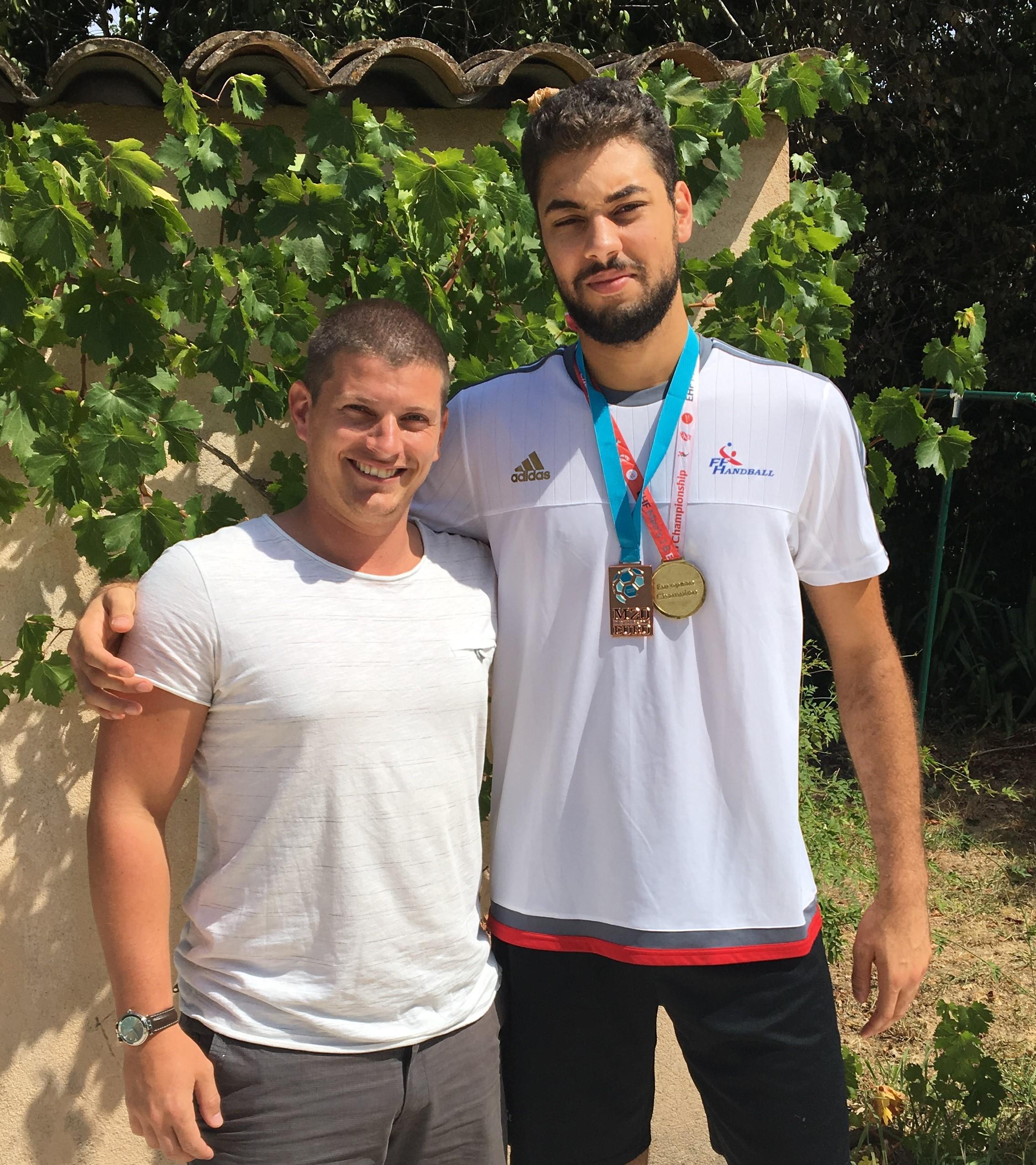 Medhi Harbaoui equipe de france handball