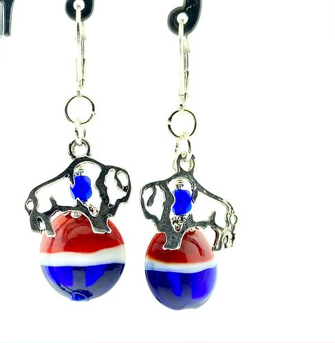 Buffalo Bills earrings