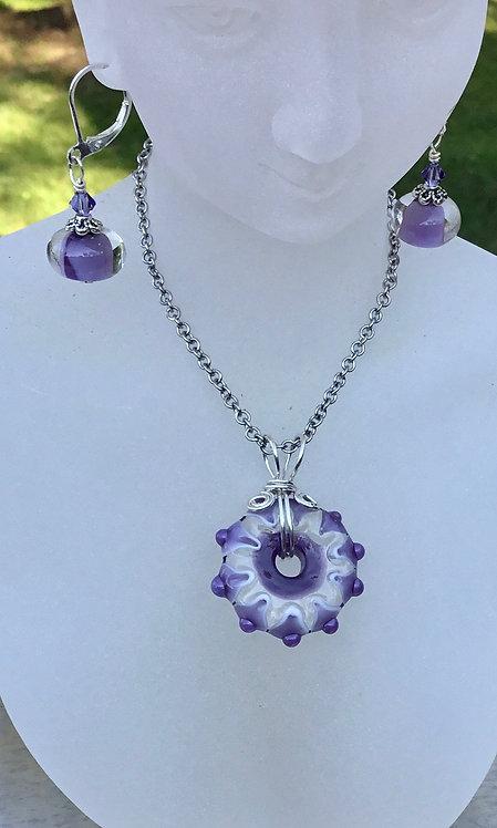 Light Purple EARRINGS
