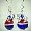 Thumbnail: Buffalo Bills earrings
