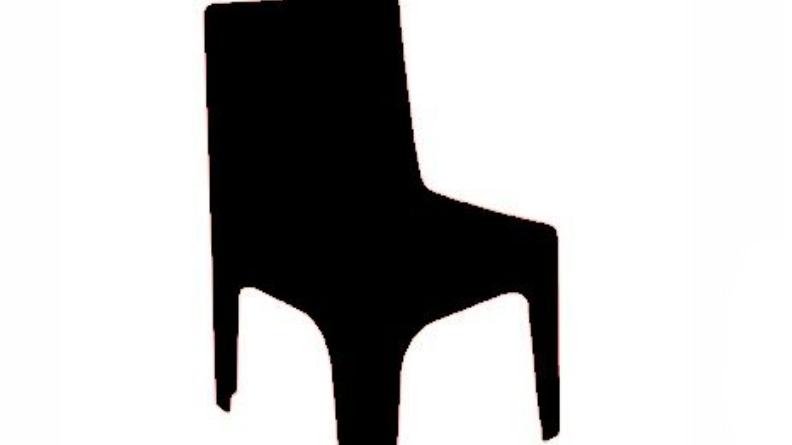 Kids Plastic Black Chair