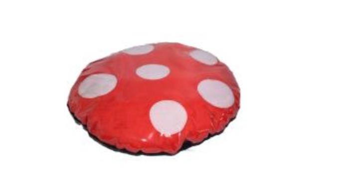 Kids Mushroom Print Cushion