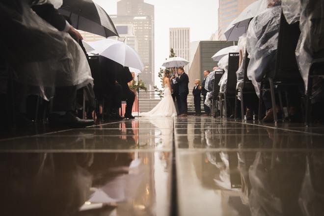 Hyatt Denver Rooftop Wedding