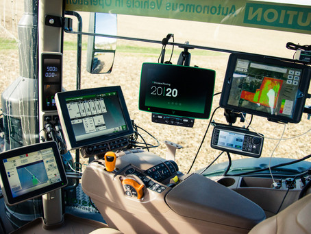What do tractors fully equipped with precision technology from factory mean for mixed fleet owners?
