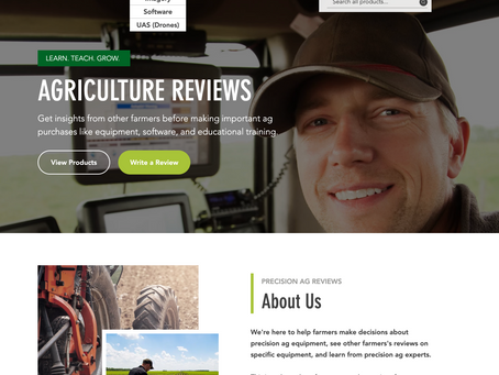 Precision Ag Reviews Launches Web Resource for Farmers