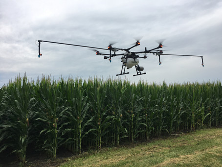 How to Optimize Fungicide Applications with Drones